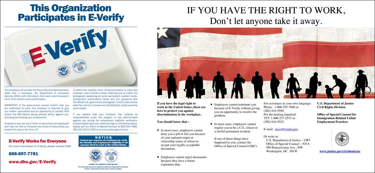 E-Verify Poster